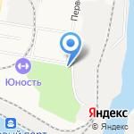 Первомайский на карте Благовещенска