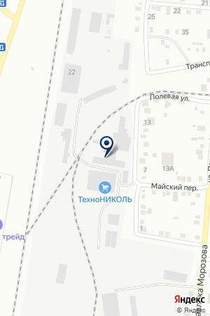 КМ-Полимер на карте Благовещенска