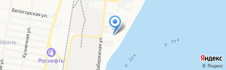 Амурская областная специальная библиотека для незрячих и слабовидящих на карте Благовещенска