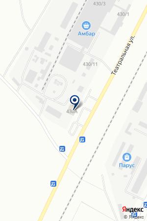 Автомастерская по ремонту грузовых автомобилей на карте Благовещенска