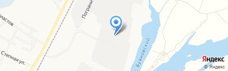Автотехснаб на карте Благовещенска