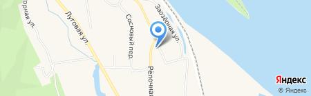 Берг на карте Белогорья