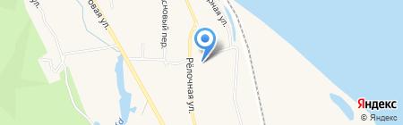Баня на карте Белогорья