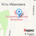 Амурский областной психоневрологический диспансер на карте Благовещенска