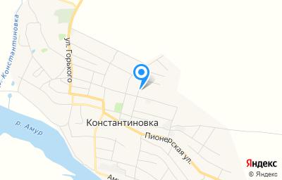 Местоположение на карте пункта техосмотра по адресу Амурская обл, с Константиновка, ул Коммунальная, зд 20В