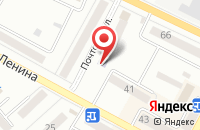 Схема проезда до компании Мосигра в Воронеже