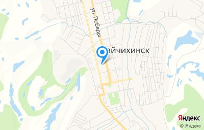 Местоположение на карте пункта техосмотра по адресу Амурская обл, г Райчихинск, ул Мухина, д 1