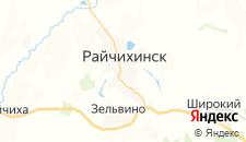 Отели города Райчихинск на карте