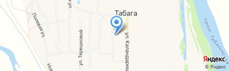 Байкальский банк Сбербанка России на карте Табаги