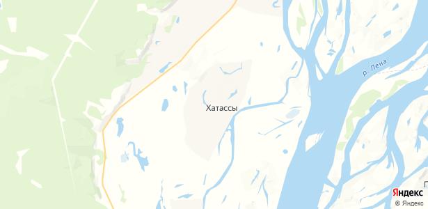 Хатассы на карте
