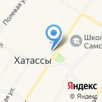 Почтовое отделение на карте Якутска