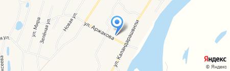 Эллэй на карте Хатассов