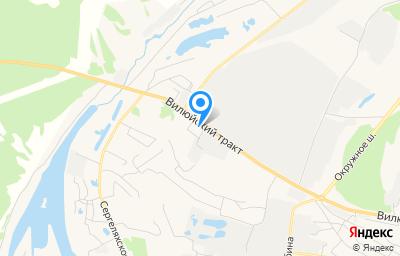 Местоположение на карте пункта техосмотра по адресу г Якутск, тракт Вилюйский, д 8 к 2