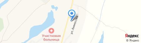 Пригородное №20 на карте Хатассов