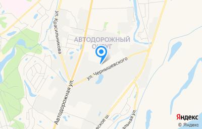 Местоположение на карте пункта техосмотра по адресу г Якутск, ул Автодорожная, д 11/7Г