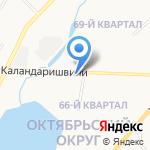 ЯКУТСКЭНЕРГО на карте Якутска