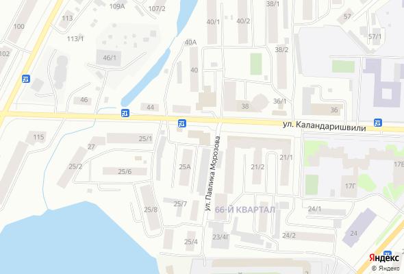 ЖК по ул. Каландаришвили, 25 (66 квартал)