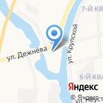 Учебный пункт на карте Якутска