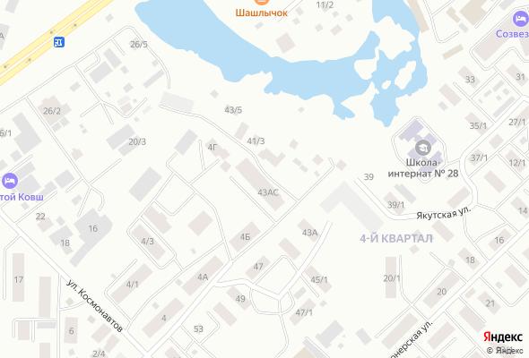 жилой комплекс по ул. Якутская, 4 квартал