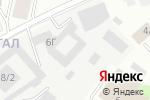 Схема проезда до компании Магазин расходных материалов для рекламного производства и декора в Якутске
