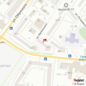 г. Якутск, ул. Петровского,10 на карта