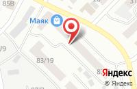 Схема проезда до компании Полюс в Якутске