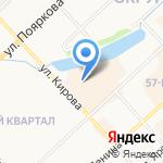 Ленаречтранс на карте Якутска