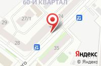 Схема проезда до компании Родник в Якутске