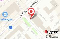 Схема проезда до компании Север-Знак в Якутске