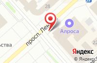 Схема проезда до компании Ренмей в Якутске