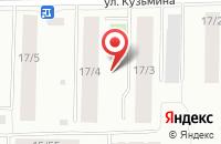 Схема проезда до компании Антураж в Якутске