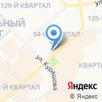 Республиканский комитет профсоюза работников связи РФ на карте Якутска