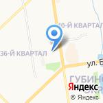 Тетрис на карте Якутска
