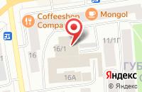Схема проезда до компании Рекламно-Продюсерская Компания  в Якутске