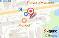 Схема проезда до компании Системы и Технологии в Якутске
