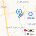 Дарк на карте Якутска