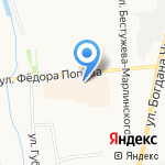 СИНАР на карте Якутска
