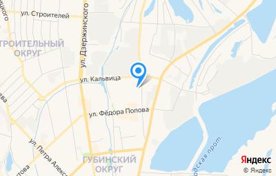 Местоположение на карте пункта техосмотра по адресу г Якутск, гск ГСПК Стена-21