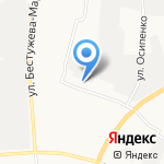 Вторник на карте Якутска