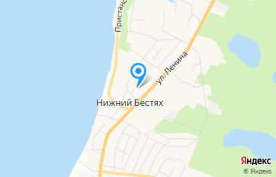 Местоположение на карте пункта техосмотра по адресу Респ Саха /Якутия/, у Мегино-Кангаласский, п Нижний Бестях, ул Рощинская, д 12