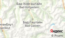 Отели города Бад-Гастайн на карте