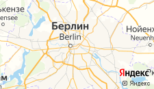 Отели города Берлин на карте