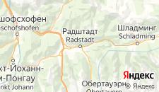 Отели города Радштадт на карте
