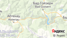 Отели города Гозау на карте