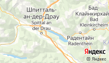 Отели города Милльштатт-ам-Зе на карте
