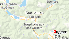 Хостелы города Бад-Ишль на карте