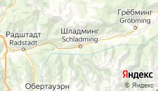 Отели города Шладминг на карте