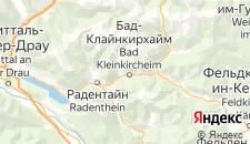 Отели города Бад-Клайнкирхайм на карте