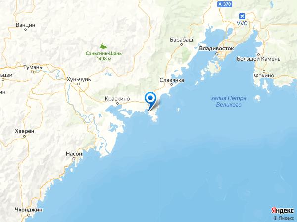 село Андреевка на карте