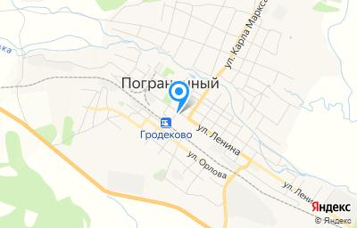 Местоположение на карте пункта техосмотра по адресу Приморский край, пгт Пограничный, ул Ленина, д 50